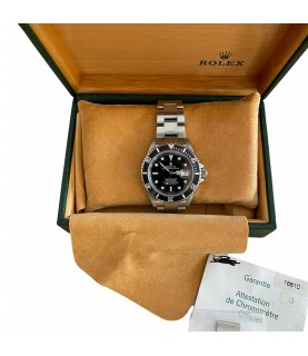 Rolex Submariner 16610 men's watch with box and papers 2004