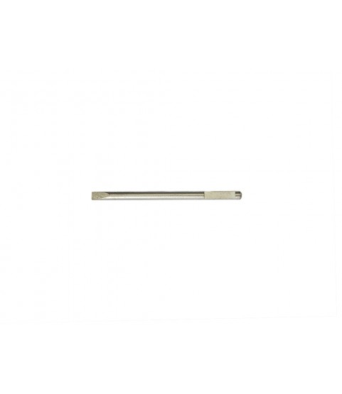 Screwdriver stainless steel spare blade V-form 1.00mm