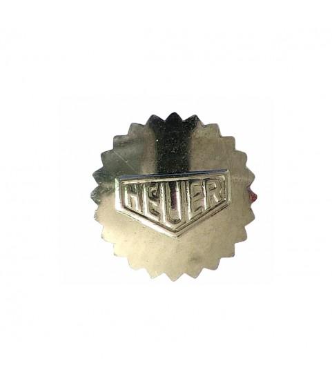 Vintage Heuer Autavia watch steel crown 6.95mm