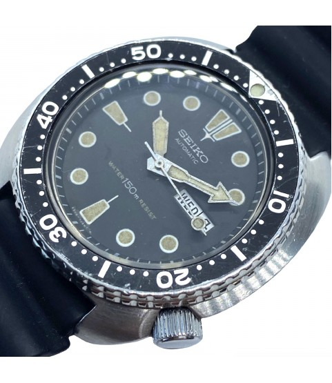 Vintage Seiko Turtle Wabi Sabi automatic diver men's watch 6309-7040