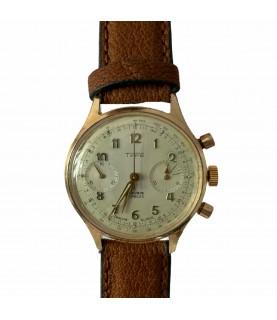 Vintage TYPE Chronograph men's watch with Valjoux 7730 1960s